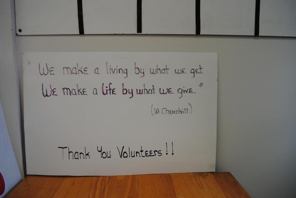 Volunteers Change the World