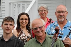 The Upper Catskill String Quartet plus bass
