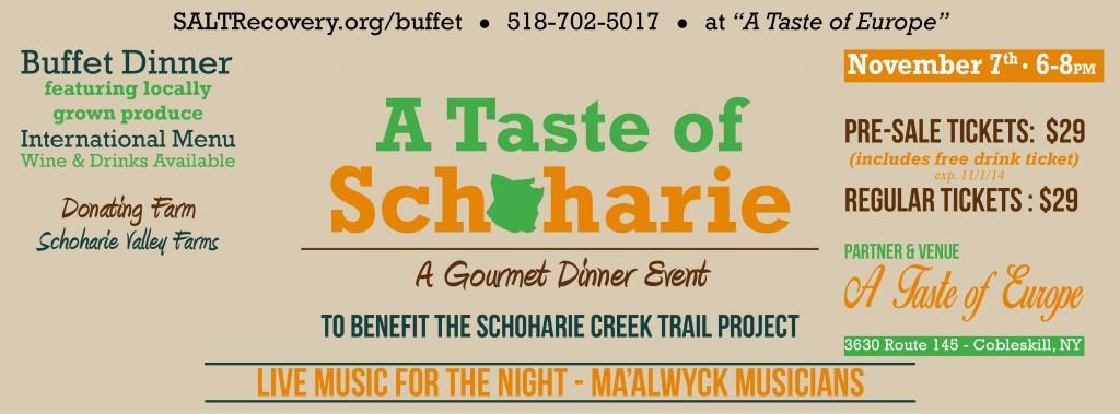 Taste of Schoharie Banner