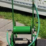 Hannay Reels portable garden hose reel