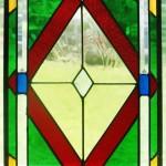 Stained glass window by KarlesKent Studio