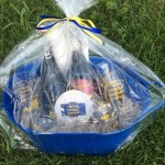 Serious Brewing Co. gift basket